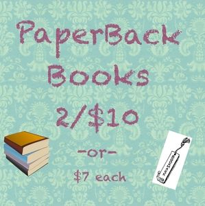 Other - 📚 Paperback books 2/$10